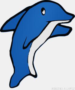 Delfines para imprimir gratis