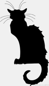 Dibujo de gato facil