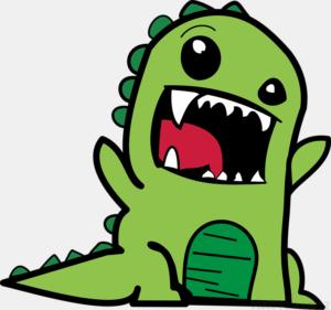 Dibujos de Dinosaurio para pintar