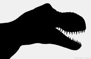 Dinosaurio Rex dibujo