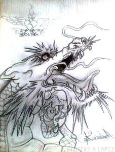 Dragon dibujo