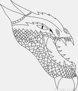 Imagenes de dragones para colorear