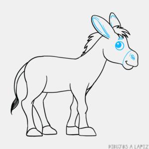 burro en dibujo