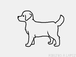 como dibujar a un cachorro