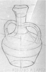 como dibujar paso a paso con carboncillo