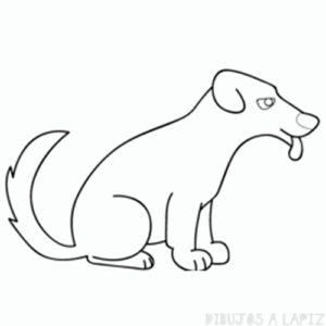 como dibujar un lobo facil para niños