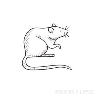 como dibujar un raton facil