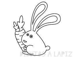 dibujo conejo infantil