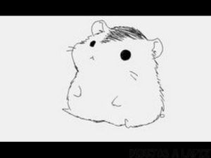 dibujos animados hamster