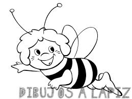 dibujos de la abeja maya