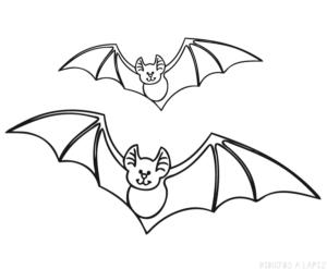 dibujos de murcielagos para halloween