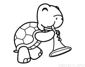 dibujos de tortugas infantiles