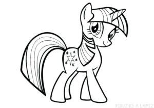 dibujos little pony