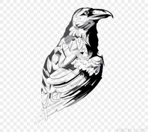 figuras de cuervos