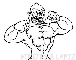 gorila caricatura