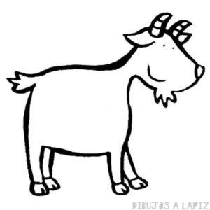 imagenes de cabras para dibujar