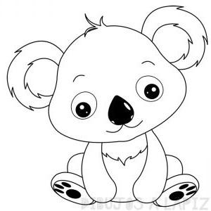 imagenes de koalas en caricatura