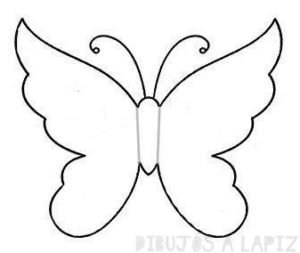 imagenes de mariposas para colorear