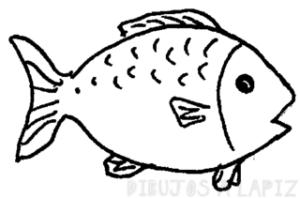 imagenes de peces para dibujar