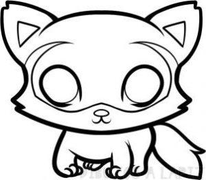 mapache de caricatura