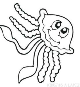 medusa para colorear