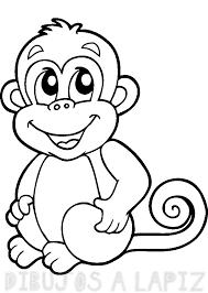 mono dibujo
