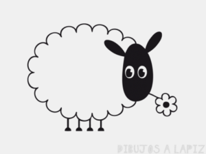 oveja caricatura