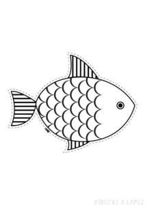 pez colorear