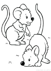 ratoncitos dibujos