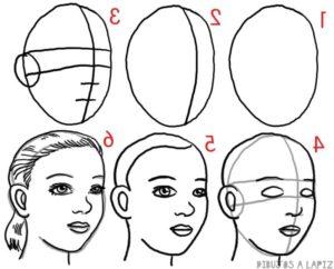 como dibujar una persona facil
