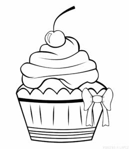 cupcakes para dibujar scaled
