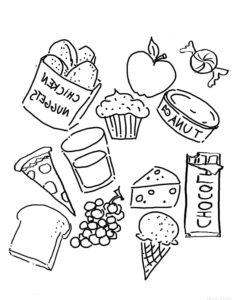 dibujo del dia de la alimentacion scaled