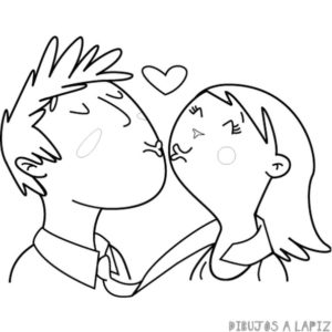 dibujos de amor a lapiz para mi novio