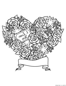 dibujos de amor con frases