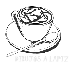 dibujos de cafeteras