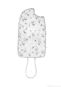 dibujos de helados para colorear scaled