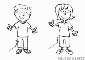 dibujos de personas animadas