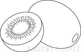 dibujos kiwi fruta