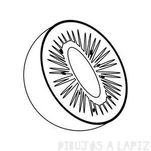 dibujos para colorear de kiwi
