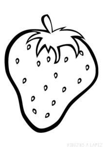 frutilla dibujo