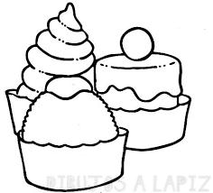 imagenes de alimentos para colorear
