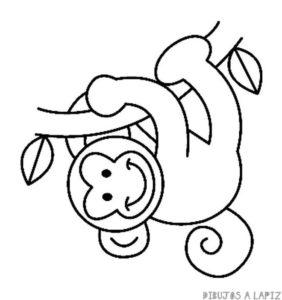 mono dibujo animado