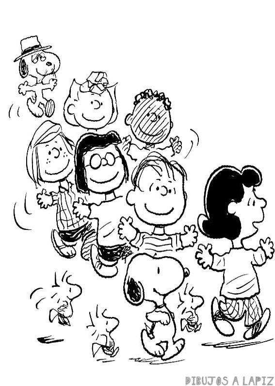 niños dibujos animados