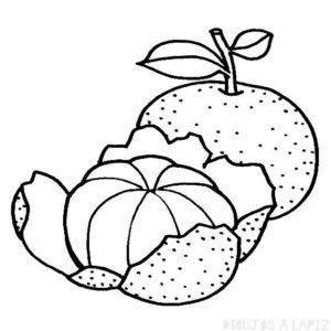 imagenes de mandarinas para imprimir