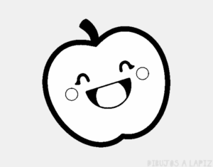 manzana para pintar