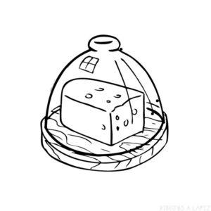 queso caricatura
