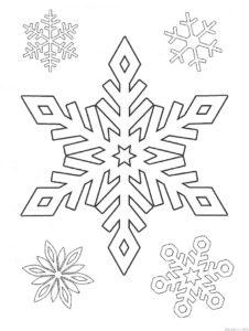 como hacer copos de nieve de papel