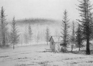 dibujos con nieve