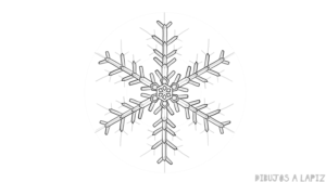 imagenes de copos de nieve para imprimir