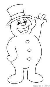 imagenes de un muñeco de nieve
